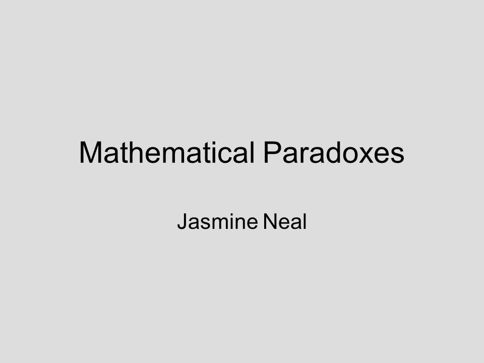 Mathematical Paradoxes