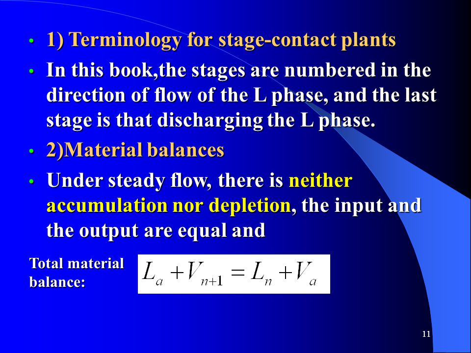 1) Terminology for stage-contact plants