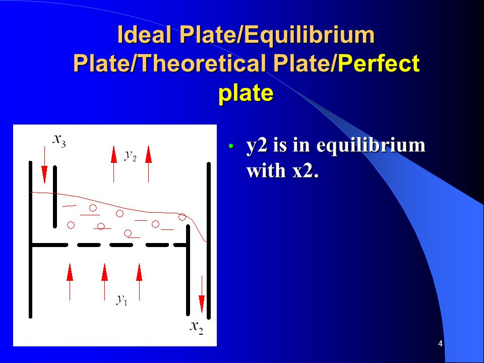 Ideal Plate/Equilibrium Plate/Theoretical Plate/Perfect plate