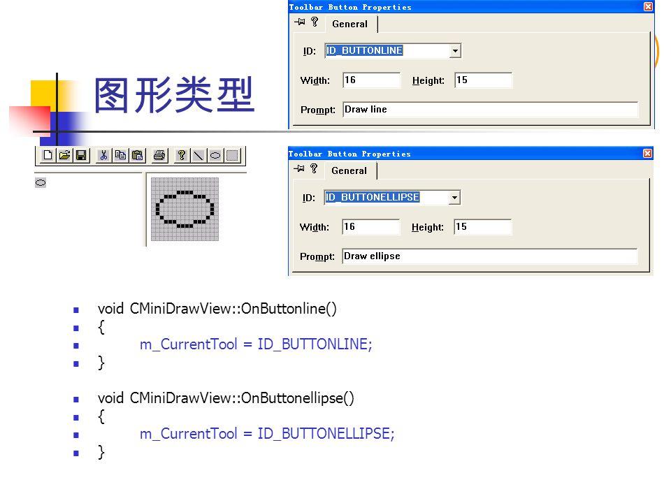 图形类型 void CMiniDrawView::OnButtonline() {