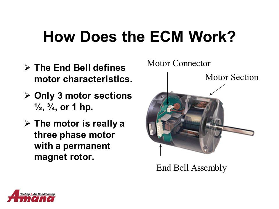 How Does the ECM Work Motor Connector