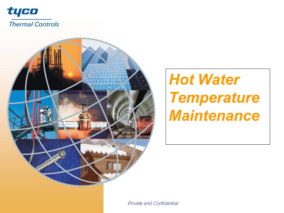 Hot Water Temperature Maintenance