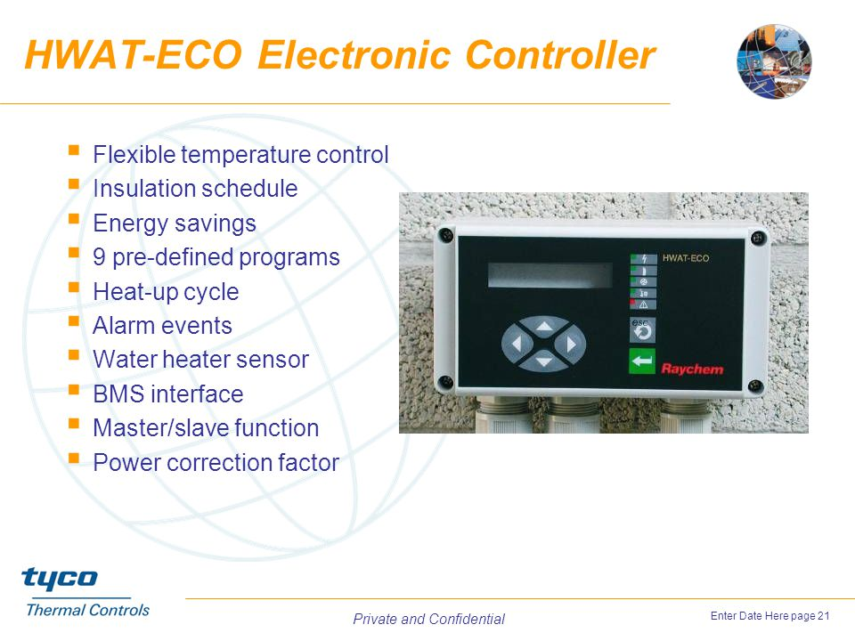 HWAT-ECO Electronic Controller
