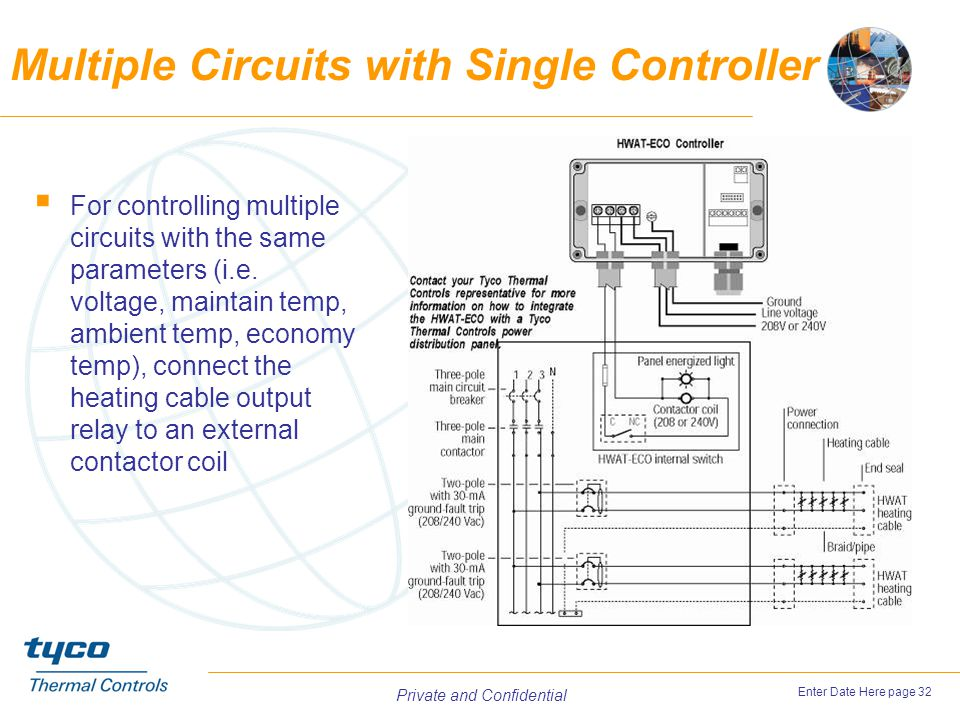 Multiple Circuits with Single Controller