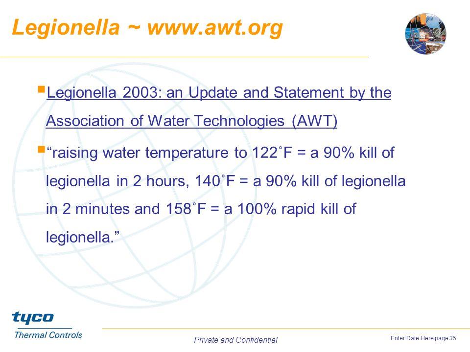 Legionella ~ www.awt.org