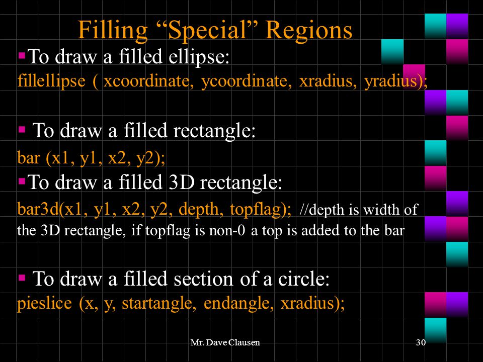 how to draw a filled rectangle in java