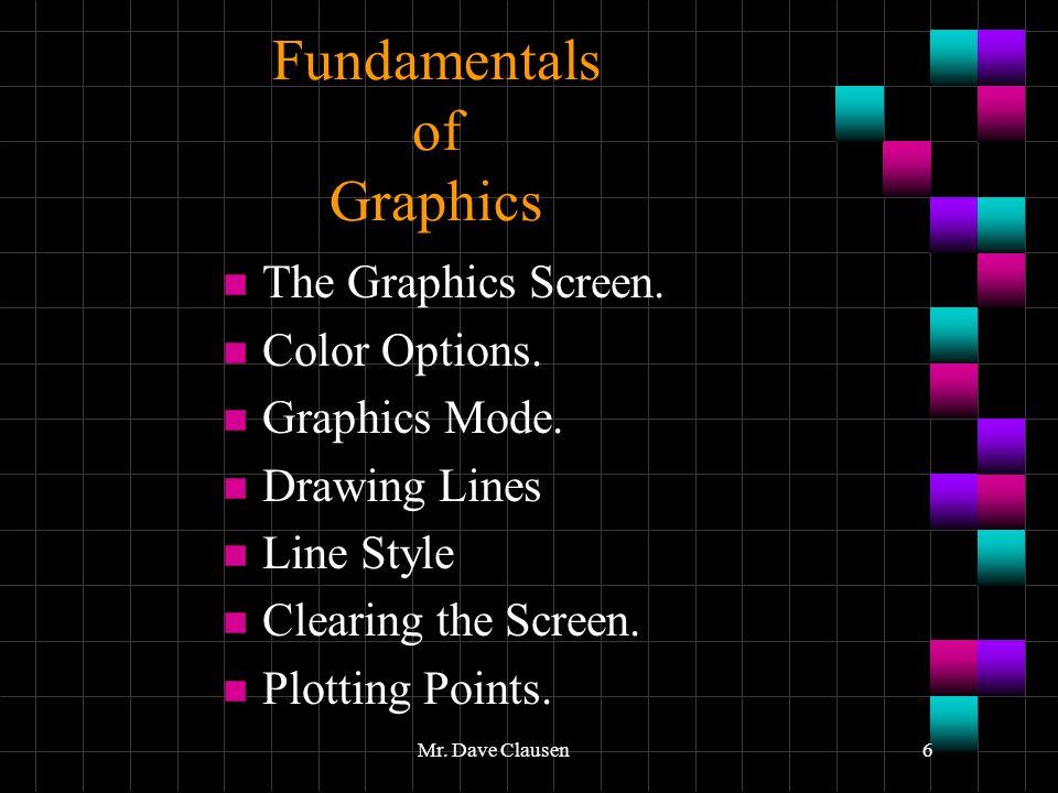 Fundamentals of Graphics