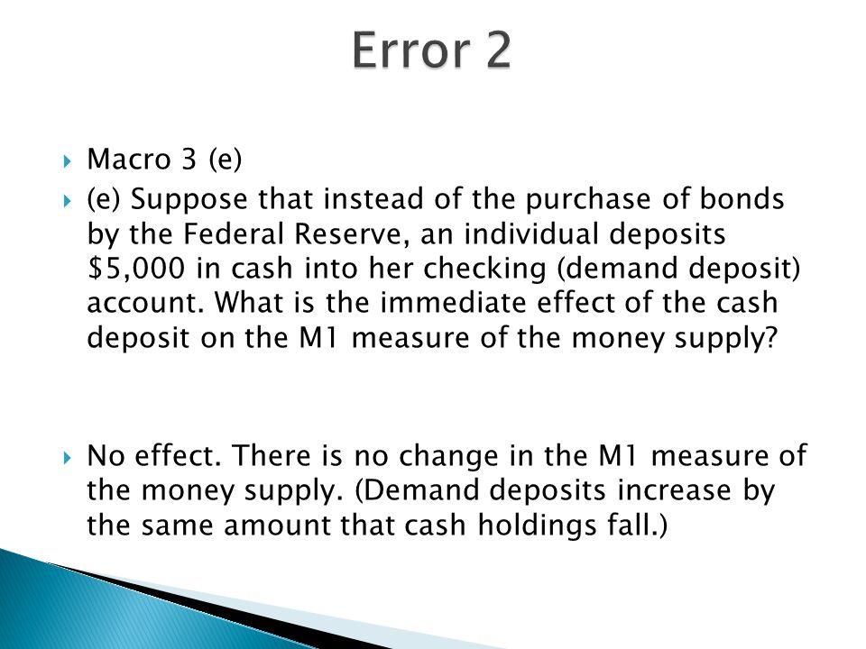 Error 2 Macro 3 (e)