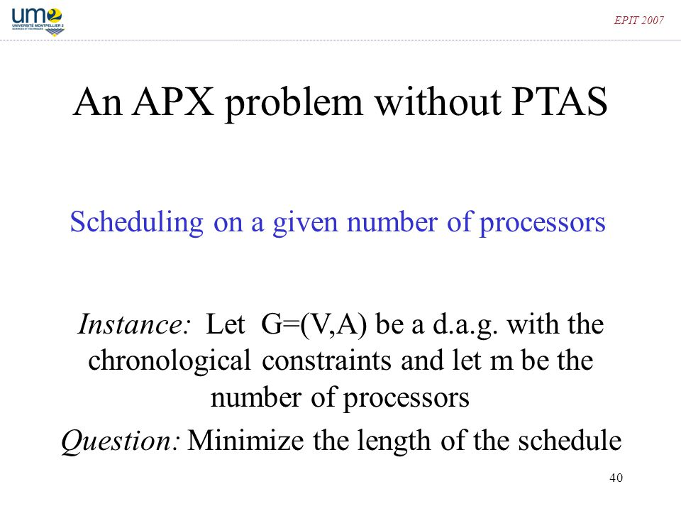 An APX problem without PTAS