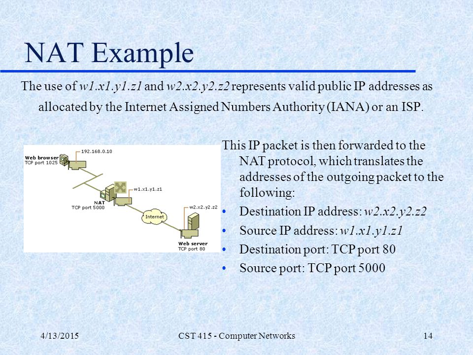 CST 415 - Computer Networks