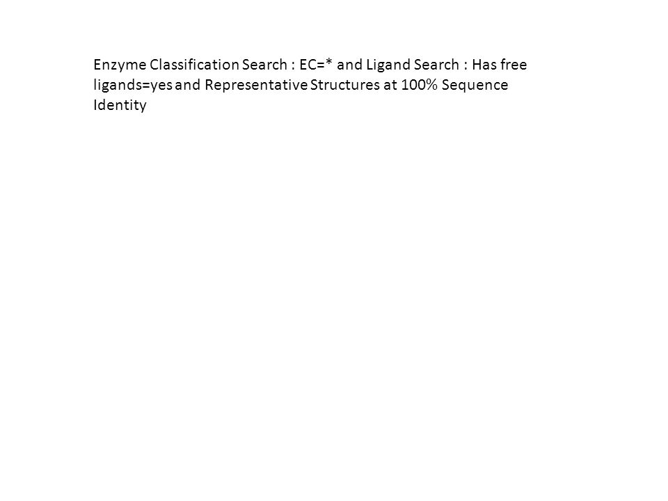Enzyme Classification Search : EC=