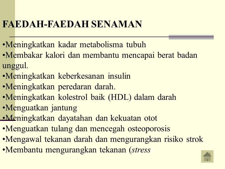 FAEDAH-FAEDAH SENAMAN