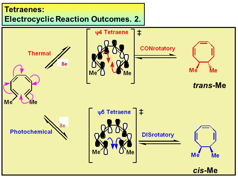 Electrocyclic Reaction Outcomes. 2.