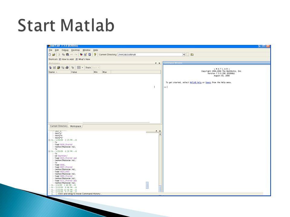 Start Matlab