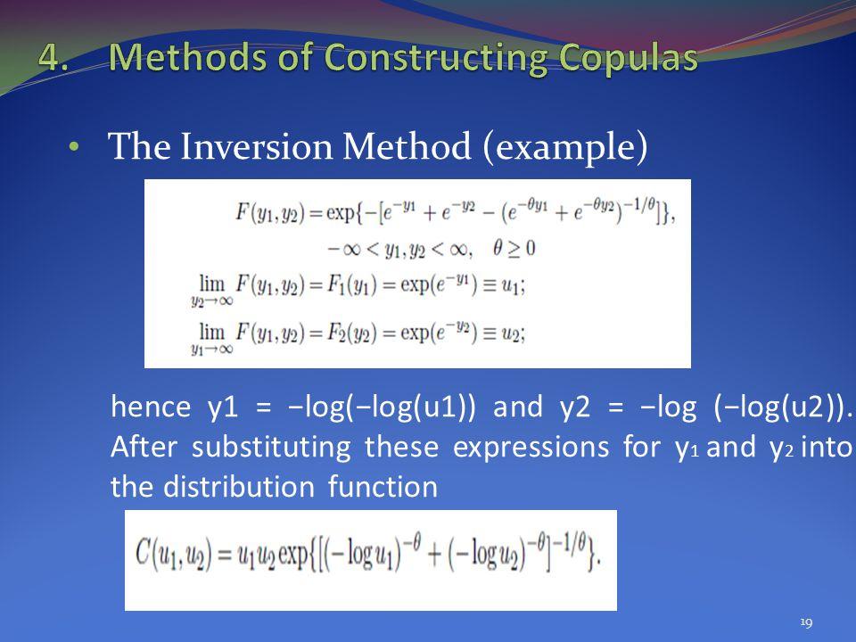 Methods of Constructing Copulas