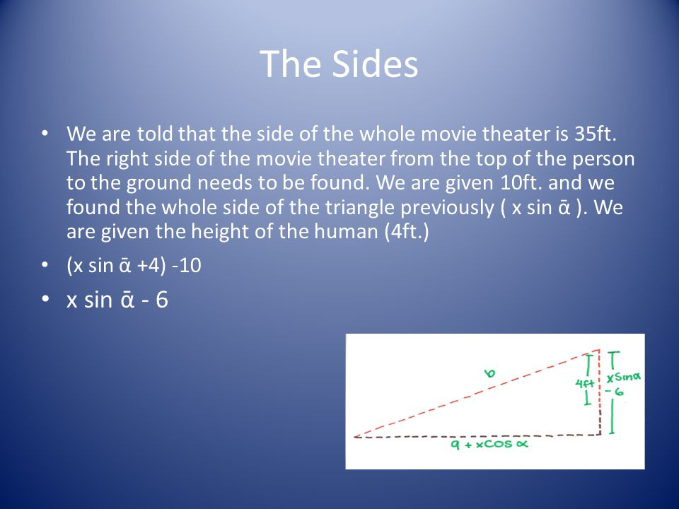 The Sides
