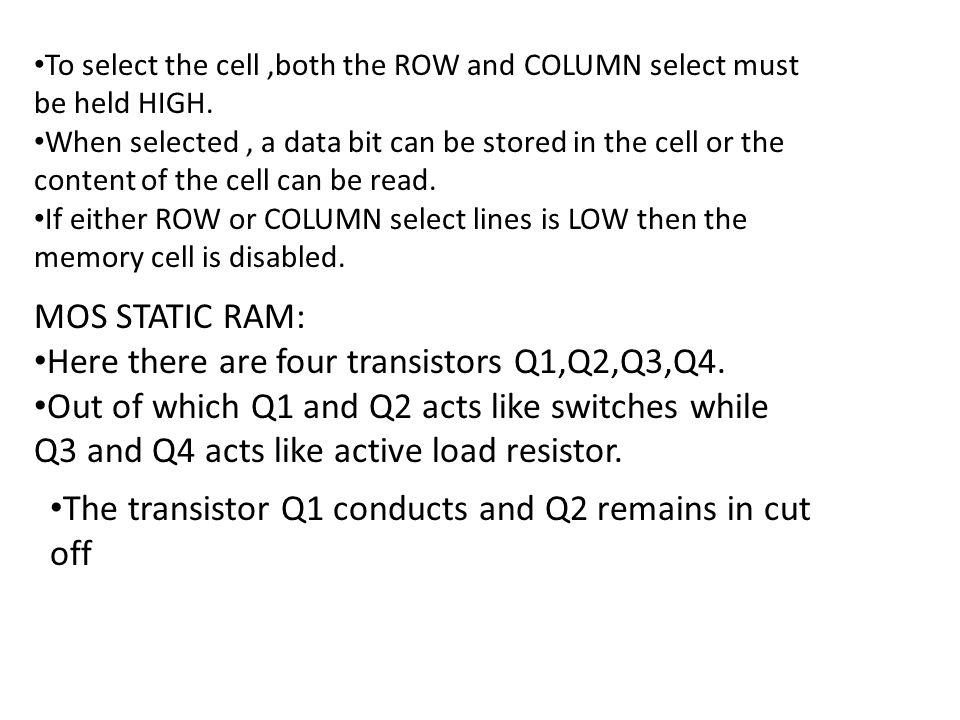 Here there are four transistors Q1,Q2,Q3,Q4.