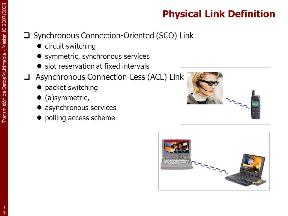 Physical Link Definition