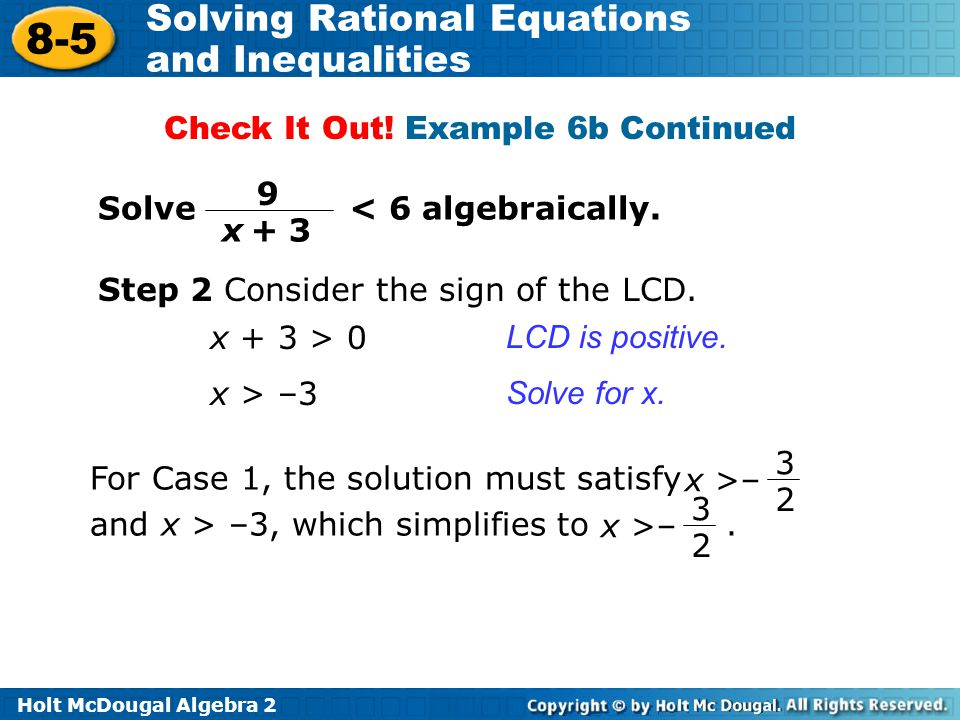 Check It Out! Example 6b Continued