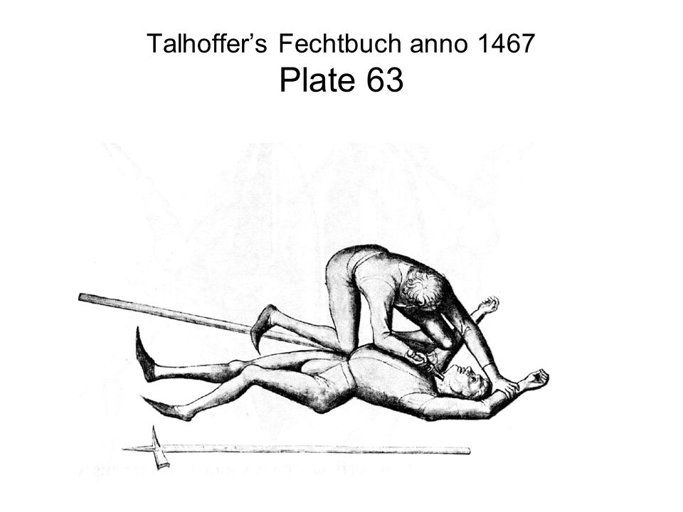 Talhoffer's Fechtbuch anno 1467 Plate 63