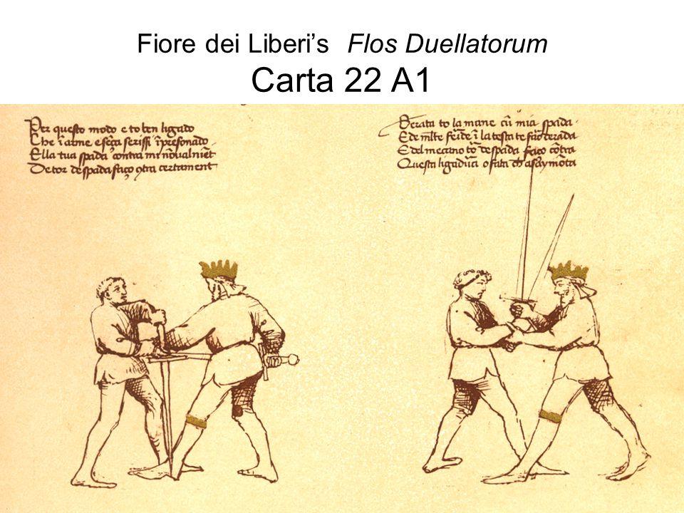 Fiore dei Liberi's Flos Duellatorum Carta 22 A1