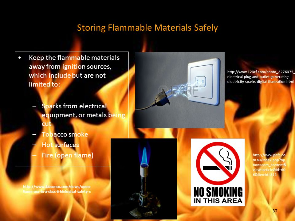 Storing Flammable Materials Safely