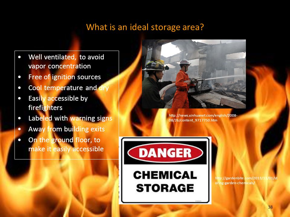 What is an ideal storage area
