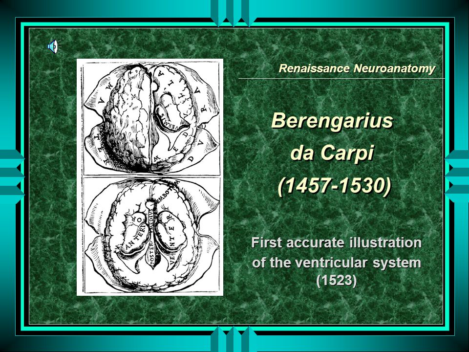 Berengarius da Carpi (1457-1530)