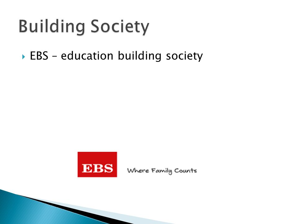 Building Society EBS – education building society