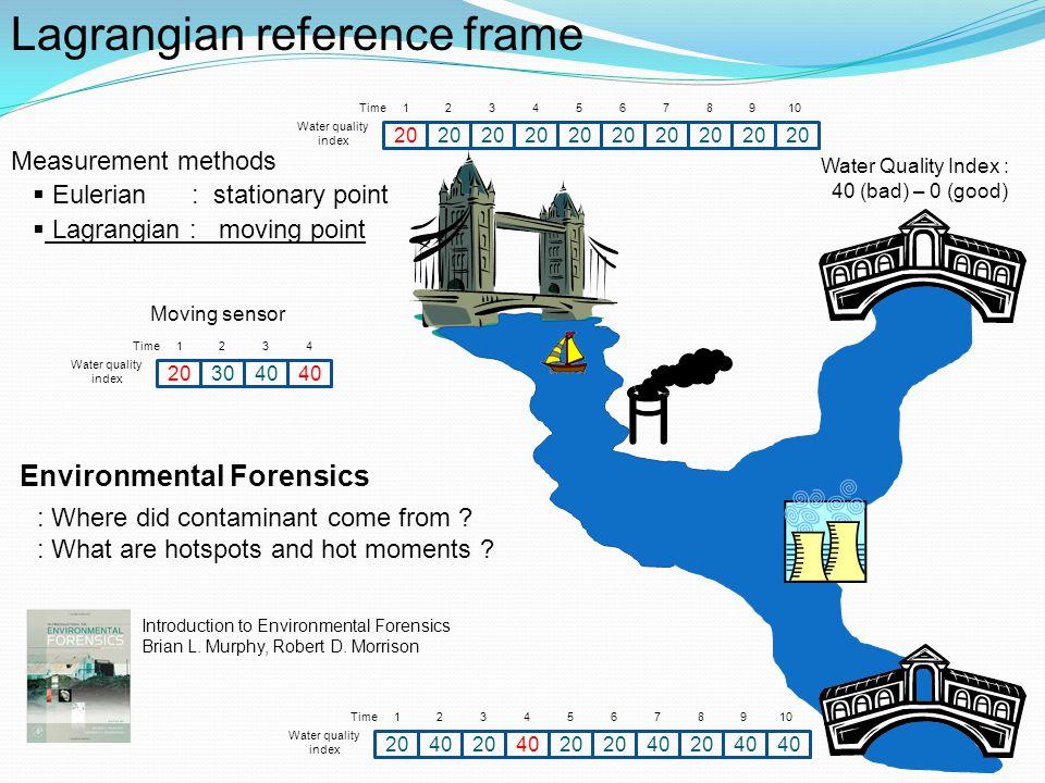 Lagrangian reference frame