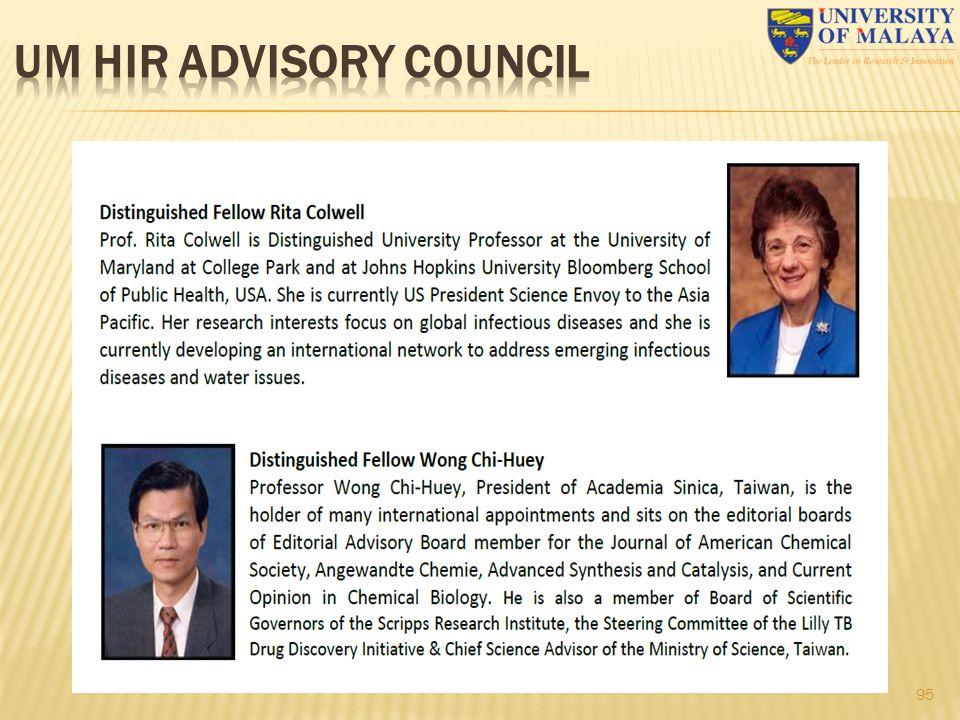Um HIR advisory council