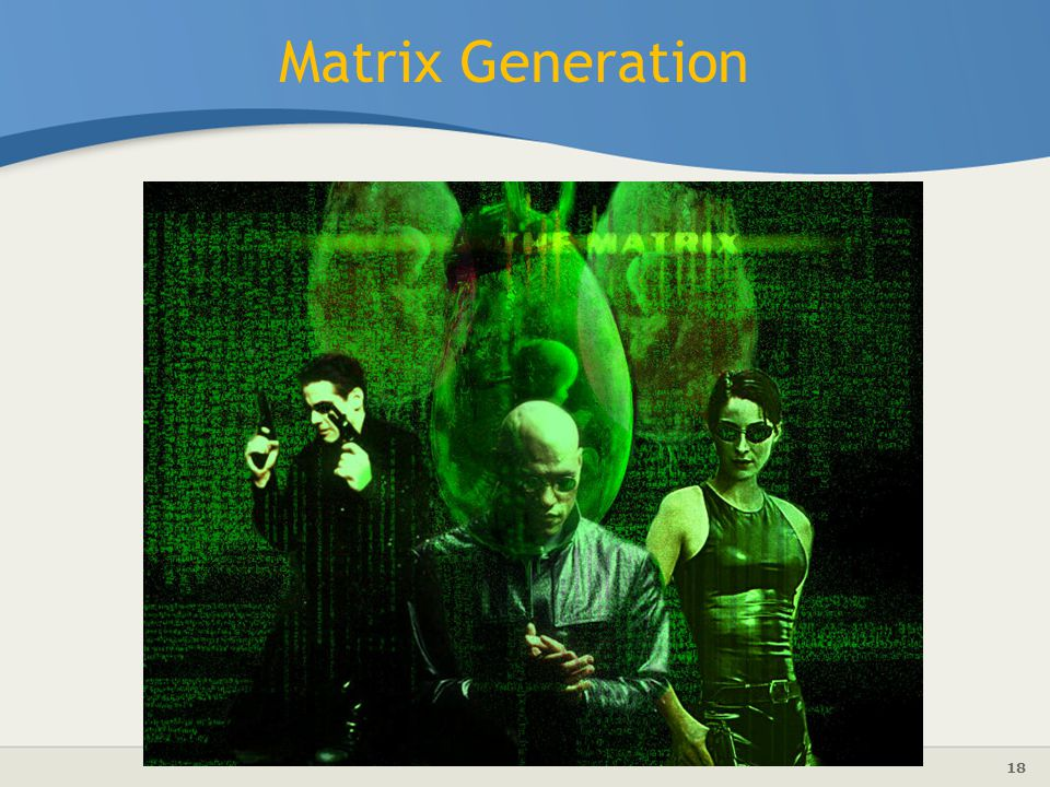 Matrix Generation