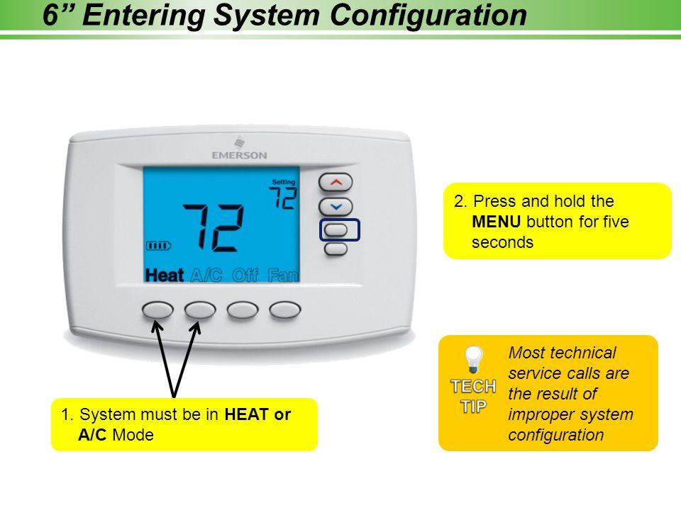6 Entering System Configuration