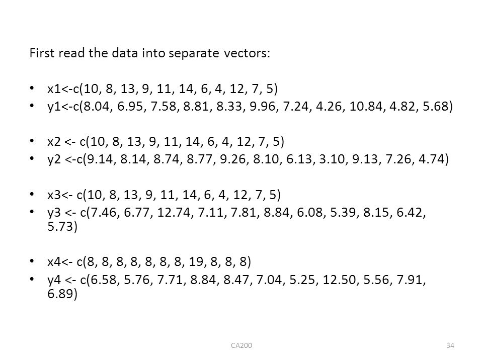 First read the data into separate vectors: