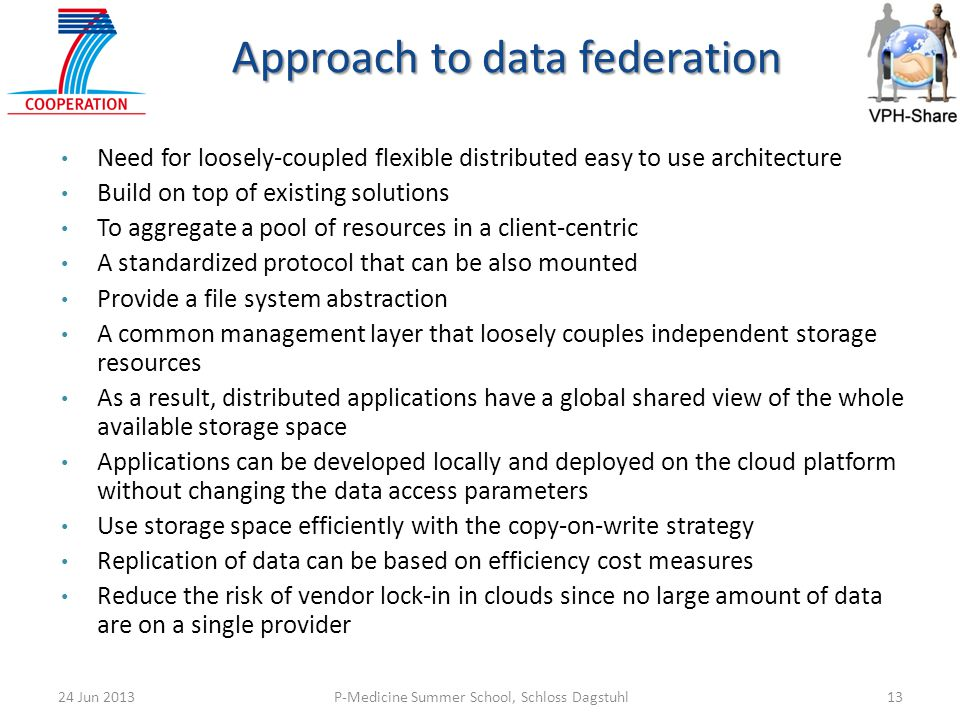Approach to data federation