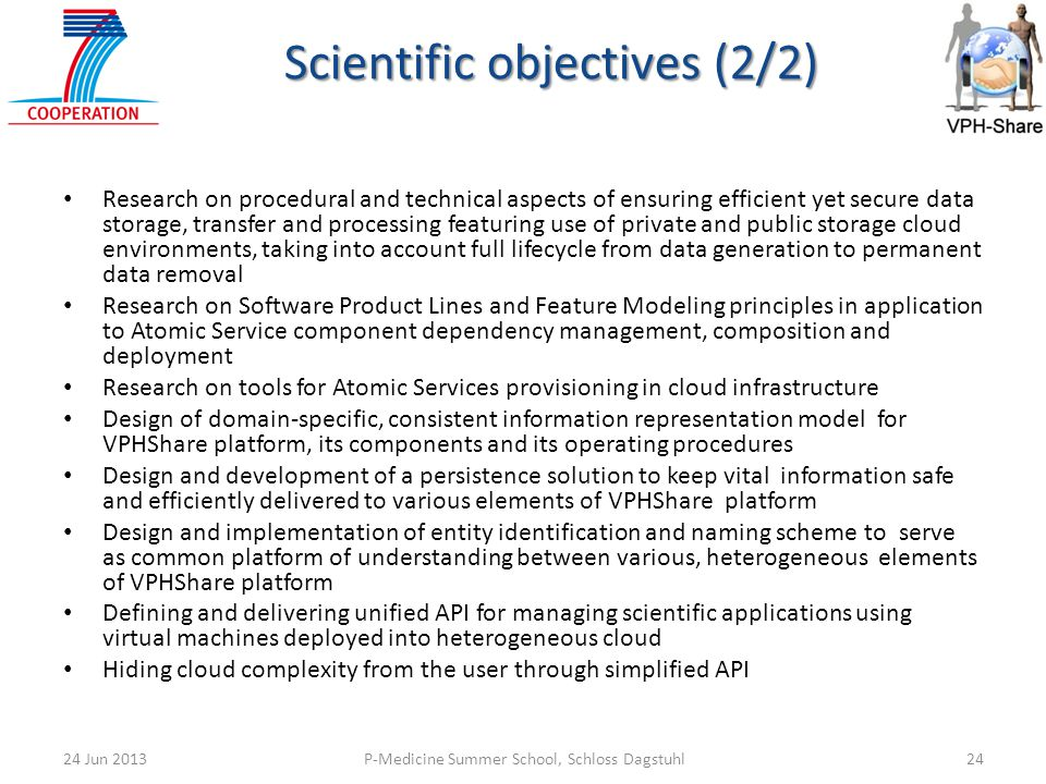 Scientific objectives (2/2)