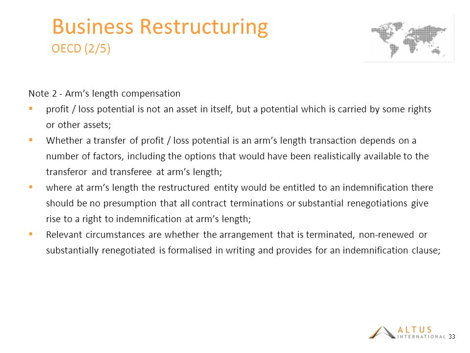 Business Restructuring OECD (2/5)