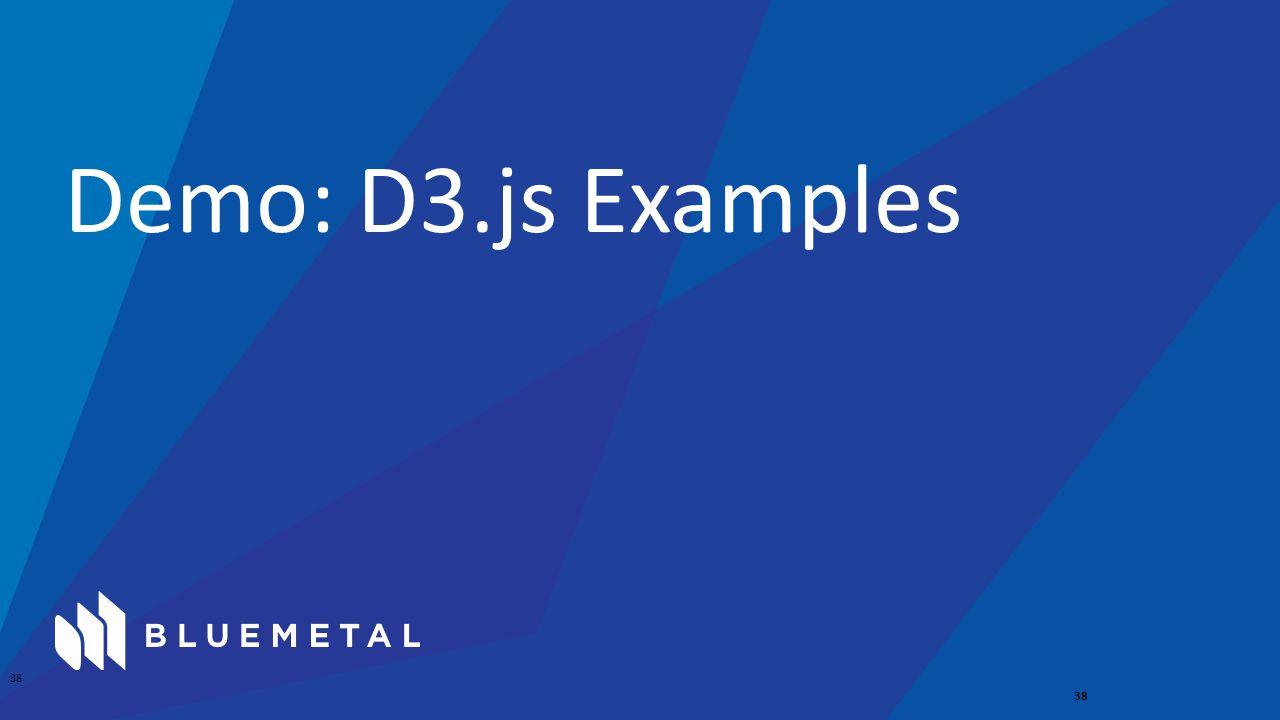 Demo: D3.js Examples 38