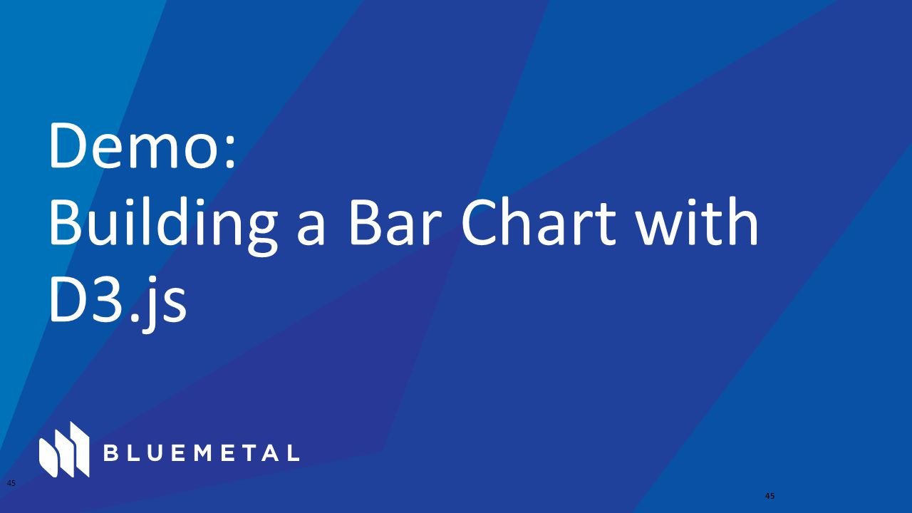 Demo: Building a Bar Chart with D3.js