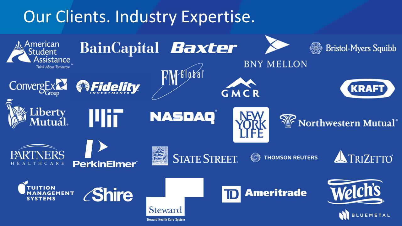 Our Clients. Industry Expertise.