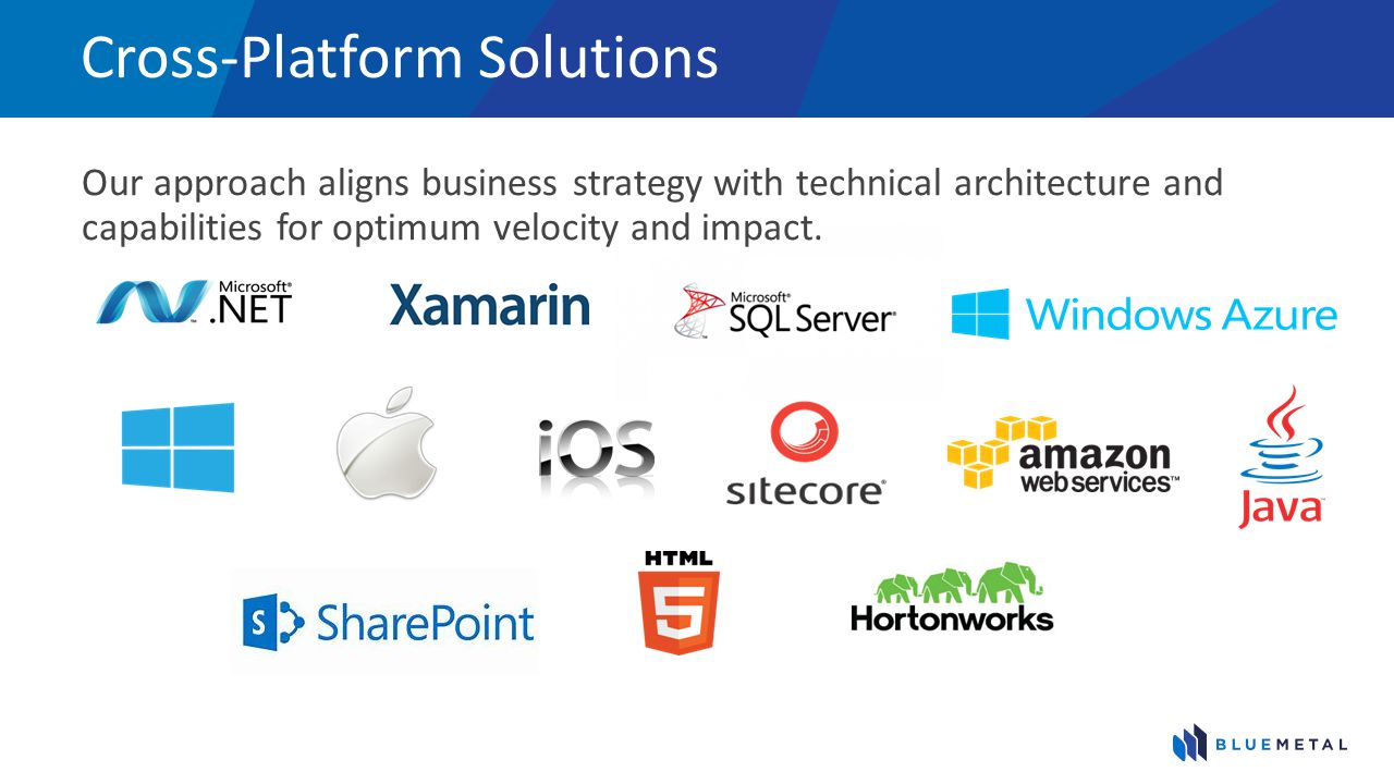 Cross-Platform Solutions