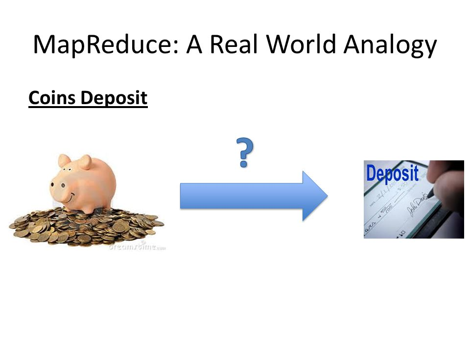 MapReduce: A Real World Analogy