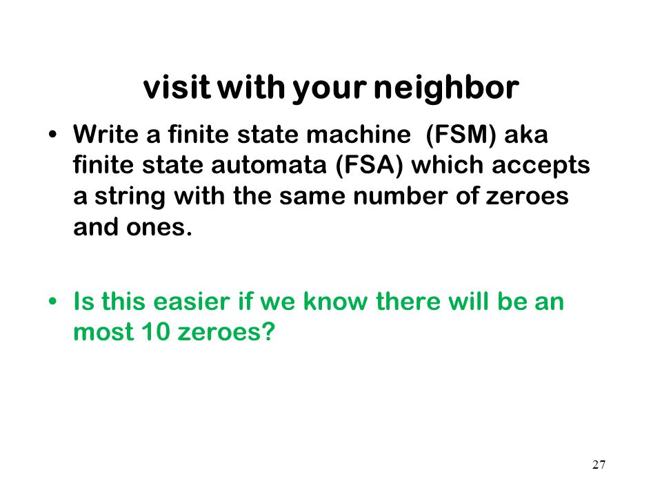 visit with your neighbor