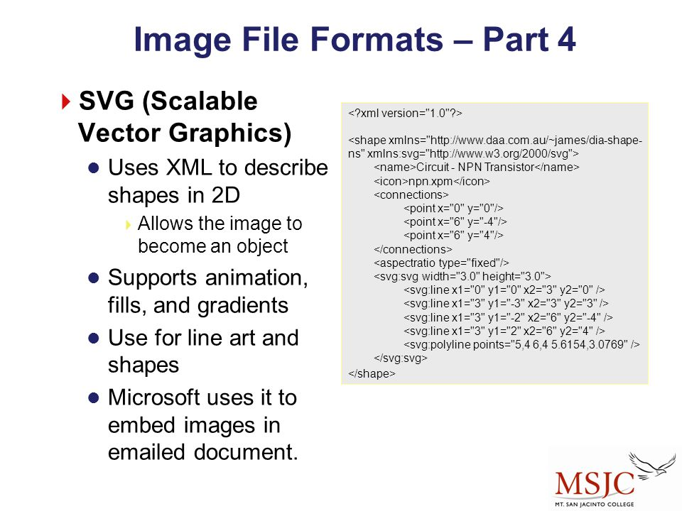Image File Formats – Part 4