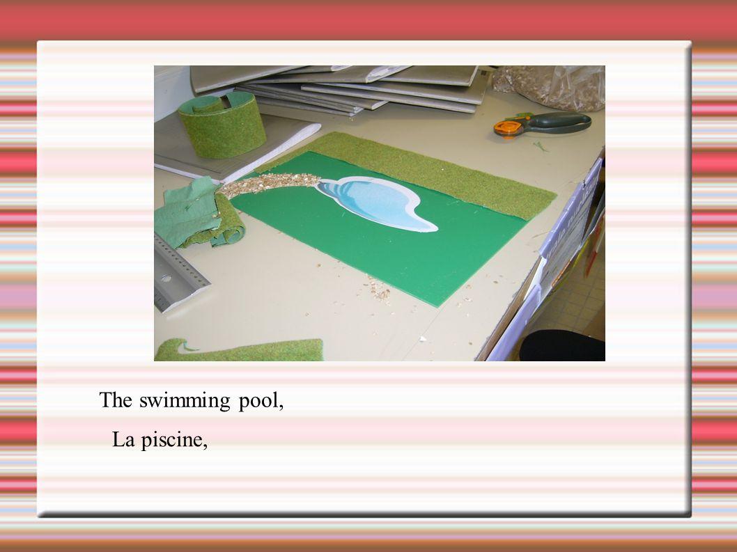 The swimming pool, La piscine,