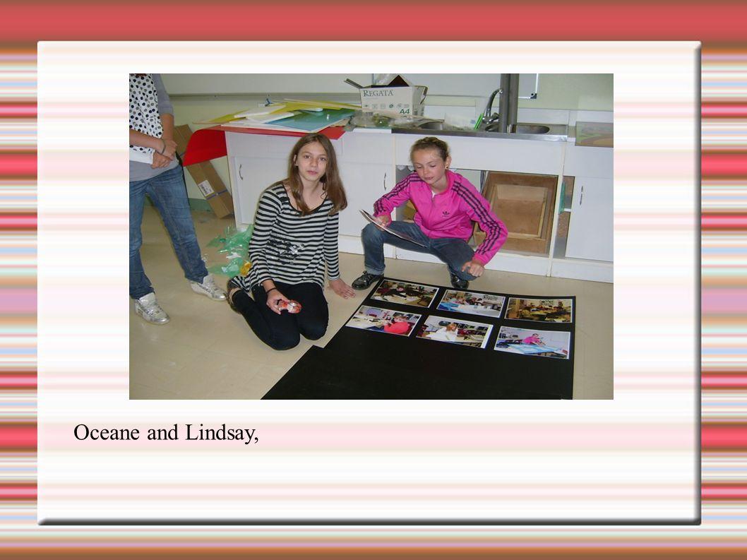 Oceane and Lindsay,