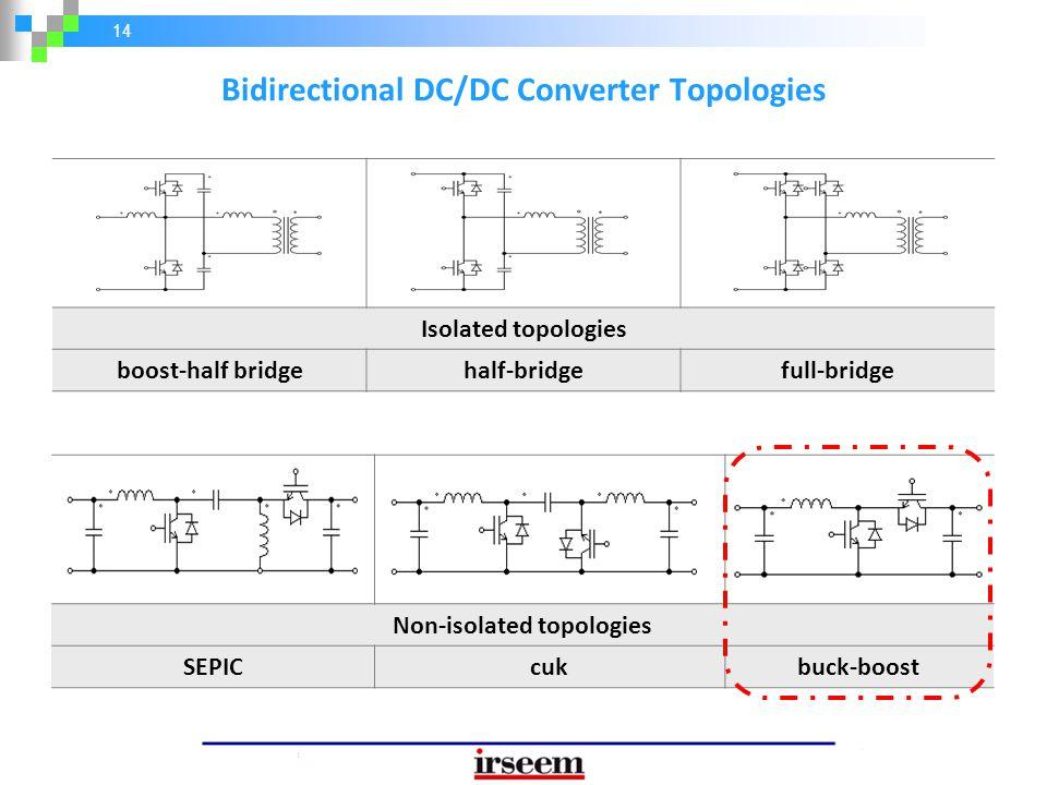 Bidirectional DC/DC Converter Topologies Non-isolated topologies