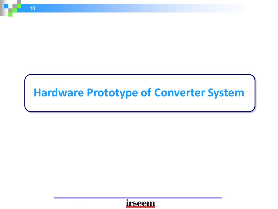 Hardware Prototype of Converter System