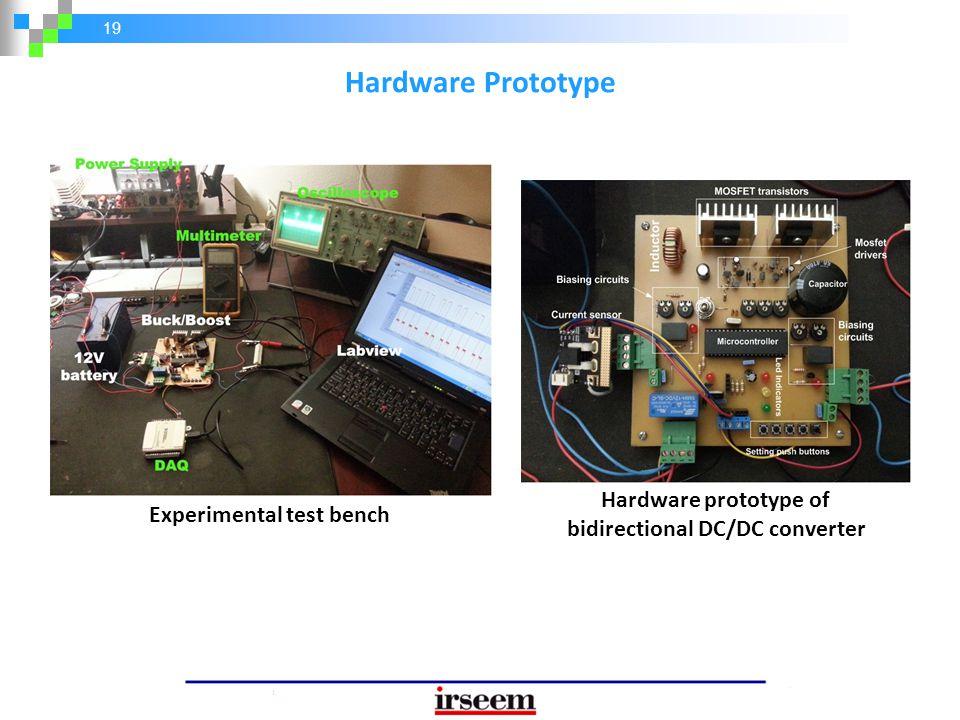 Hardware prototype of bidirectional DC/DC converter