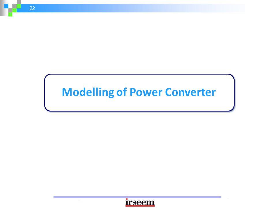 Modelling of Power Converter